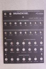 MACKIE CONTROL UNIVERSAL HUI - SYNTRILLIUM overlay - NEW never used