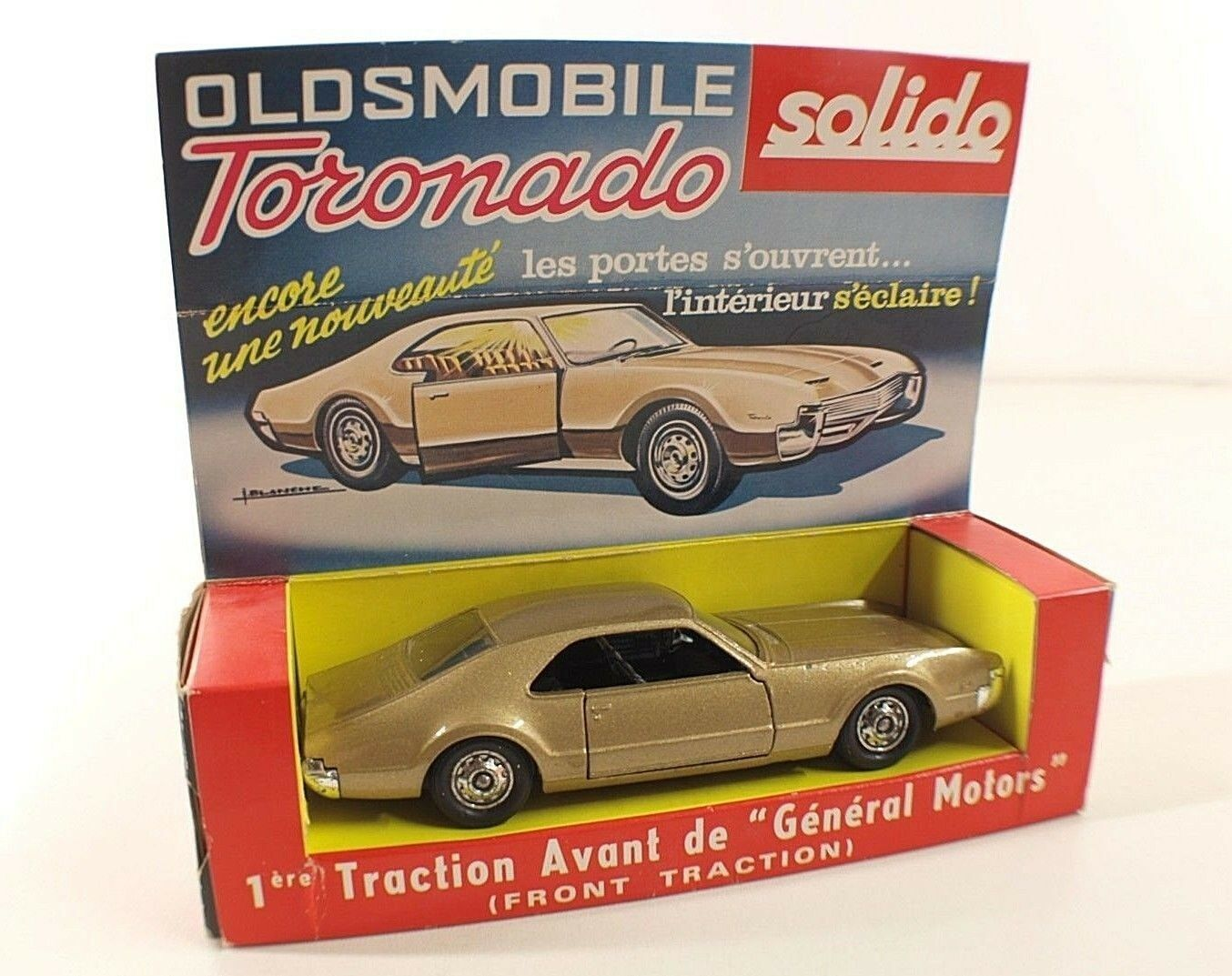Solido No. 150 Oldsmobile Tornado in Box 1 43 Old High Loyalty