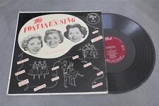 THE FONTANE SISTERS Fontane's Sing DOT DLP-3004 org MAROON LBL LP