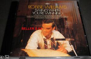 ROBBIE-WILLIAMS-cd-SWING-when-you-039-re-winning-Kurt-Weill-Duke-Ellington-Nat-King