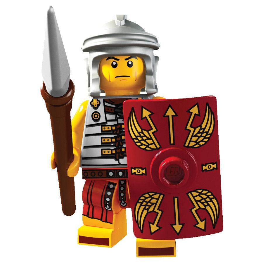 Lego minifigures serie 6 da collezione Soldato Romano Centurione 8827