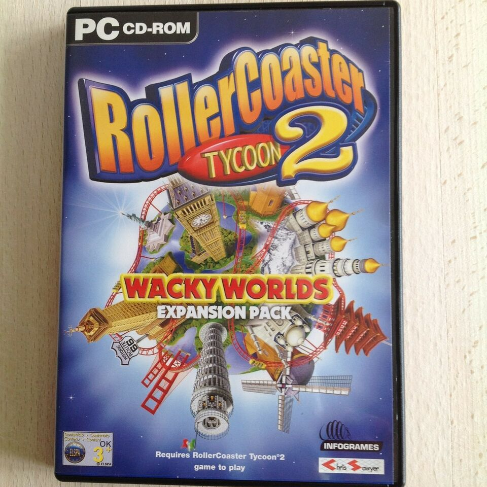 Roller Coaster tycoon 2, til pc, adventure