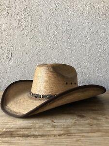 CAVENDERS COWBOY HAT SZ 7 1/4 NEW L@@K