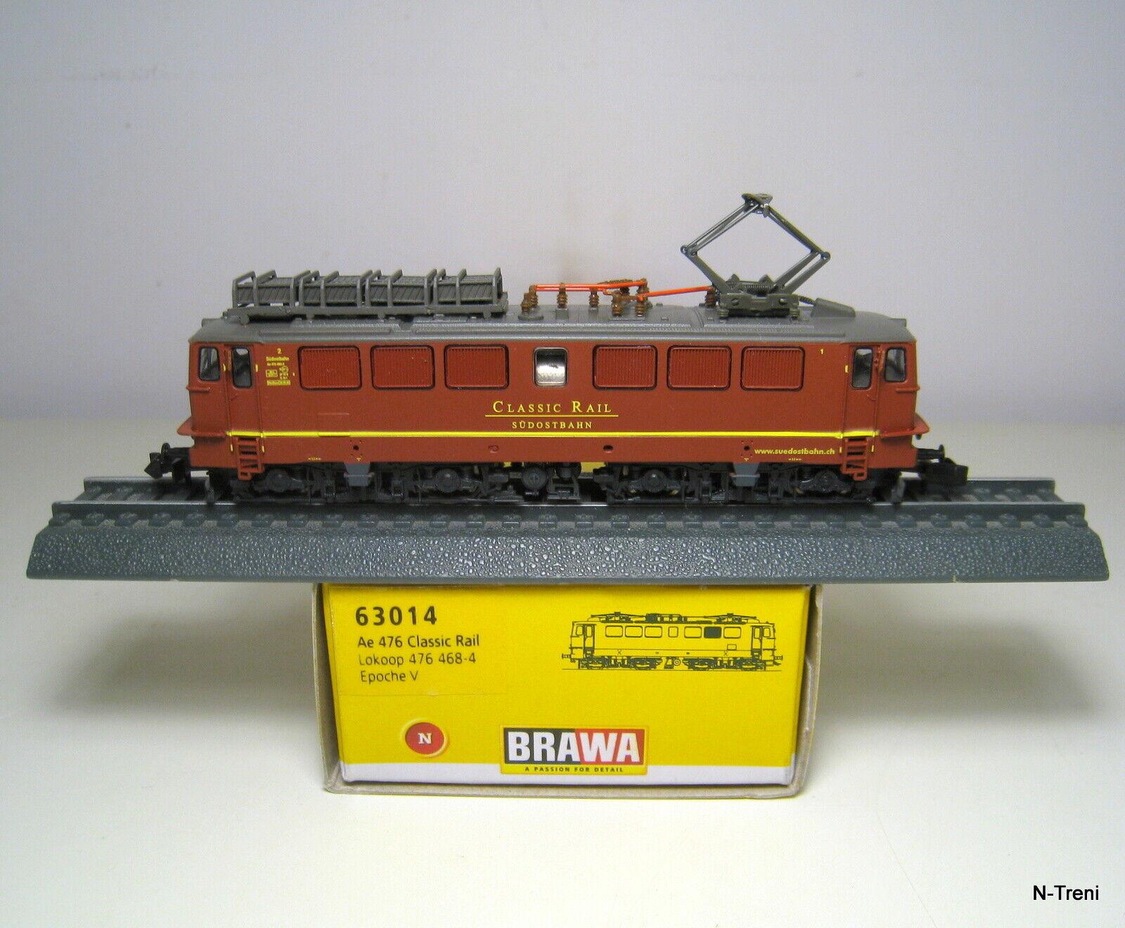 Brawa N 63014 - Loco elettrica Ae 476 Lokoop Classic Rail. Epoca V