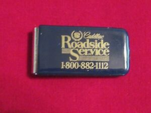 Vintage Cadillac Roadside Service Keychain FREE SHIPPING!! Gold toned