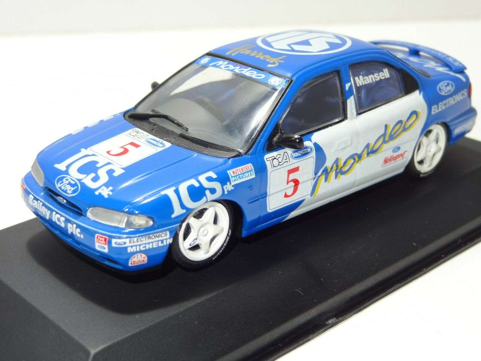 Minichamps 938005 FORD MONDEO TOCA DONNINGTON SHOOT OUT  (270) 1 43 Boxed