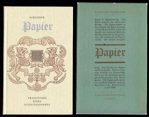 Schlieder-Wolfgang-Papier-Tradition-eines-alten-Handwerks-1985