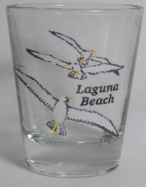 Laguna Beach Gulls Shot Glass #3091
