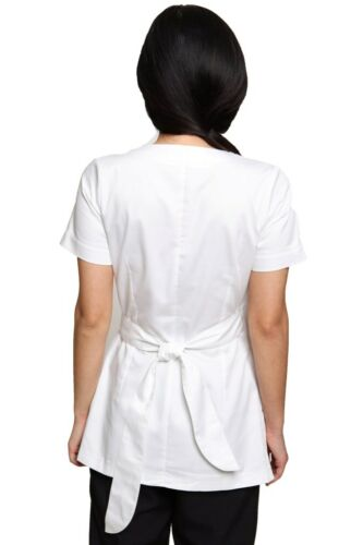 Shakina coton esthéticienne salon de coiffure spa thérapeute massage tunique uniforme