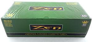 1-Box-Zen-Smoke-100-mm-100-039-s-Size-Cigarette-Filter-200-Tubes-Menthol-3135-1