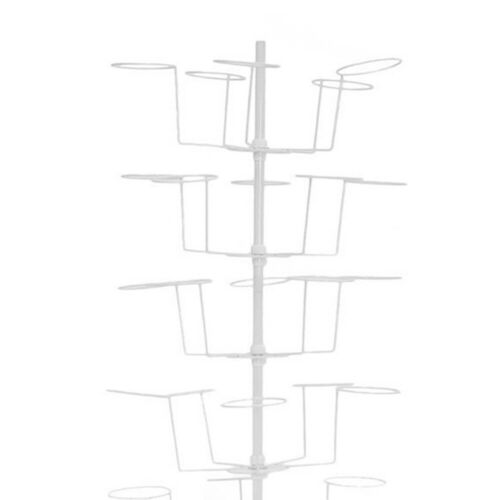 SALE Stand Hat Rack Storage Hanged Wall Mount Caps Display Holder Closet 7Layer