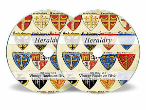 HERALDRY-300-Rare-Books-on-DVD-Family-Crest-History-Coat-of-Arms-Armorial-Art-D6