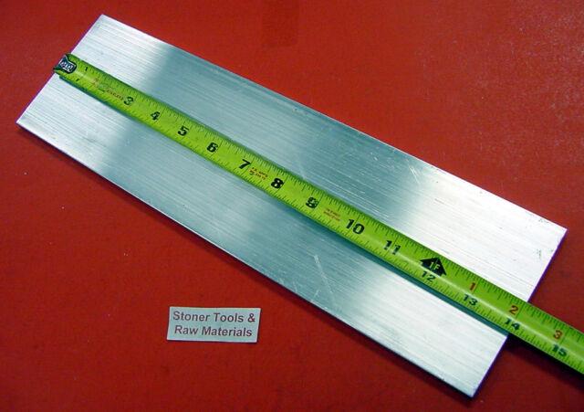 "1/4"" X 4"" ALUMINUM 6061 T6511 SOLID FLAT BAR 14"" long New .250"" Plate Mill Stock"