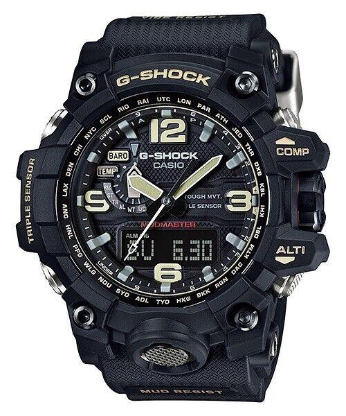 CASIO G-Shock Limited Black Solar Mudmaster Mens Watch GWG1000-1A GWG-1000-1ADR