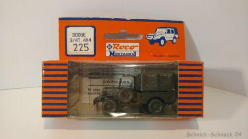 OVP #28595# Roco Minitanks 225 Dodge 3//4t 4x4 neuw
