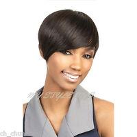 Motown Tress Human Hair Wig - H. Volta
