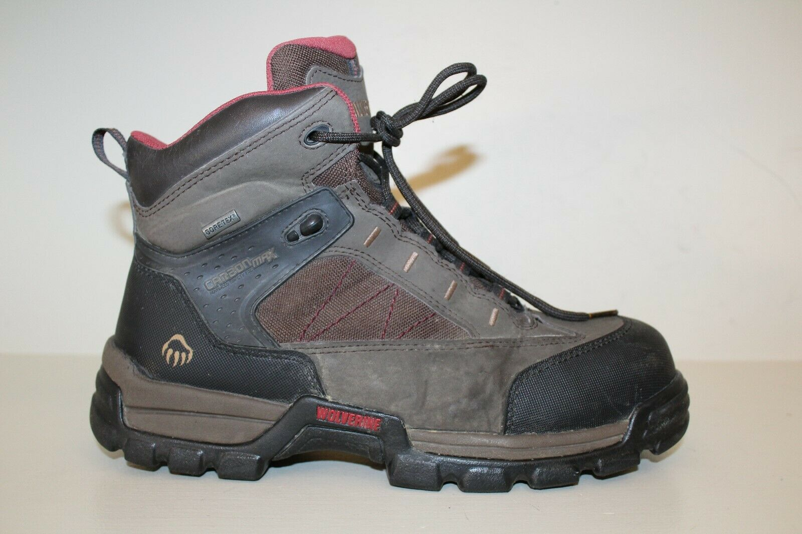 Wolverine Mens Work Boots Size 8.5 EW Carbon Max Advanced Safety Toe Gore-Tex EH