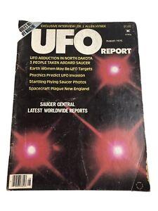 UFO REPORT August 1976 Vintage Magazine