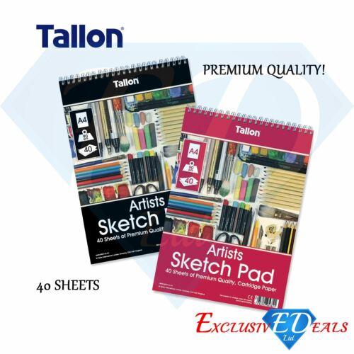 90GSM Premium Sketch Paper 40 Sheet A4 White Paper Artist Sketch Drawing Pad