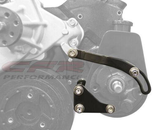 Chrome Power Steering Pump Bracket Chevy Saginaw Pump 283 305 327 350 Small SBC