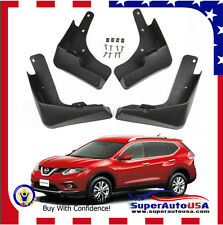 Fit Nissan Rogue X-Trail 2014-2016 Mud Flaps Splash Guard Fender Mudguard Kit