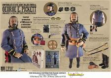 "Mohr Toys 1/6 Scale 12"" American Civil War Confederate Major George Pickett DM01"