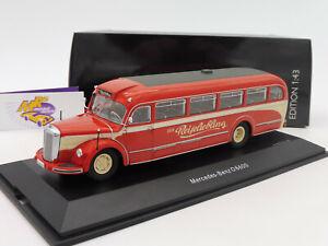 Schuco-02749-mercedes-benz-o6600-ano-de-fabricacion-1953-034-el-viaje-favorito-034-1-43