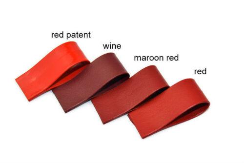 15mm Vegan PU Faux Leather Bias Tape Belt Jewellery Upholstery Handlebar DIY