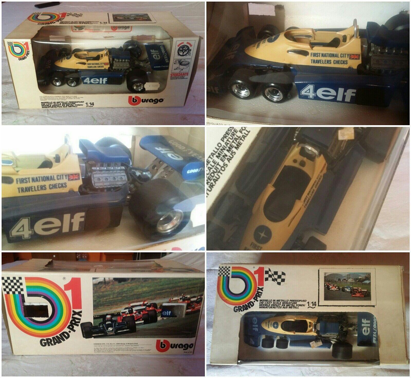 NH Burago Grand Prix 1- Tyrrell p34 2 - 1 14 - Rarissima anni '70 - Nuova 2102