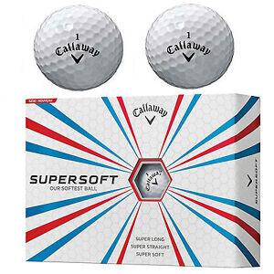 CALLAWAY SUPERSOFT GOLF BALLS WHITE *NEW* MULTIBUY DEALS CALLAWAY GOLF BALLS