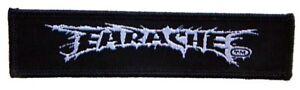 """Earache """"Logo"""" Wrist Patch OFFICIAL - 4"""" x 1"""""""