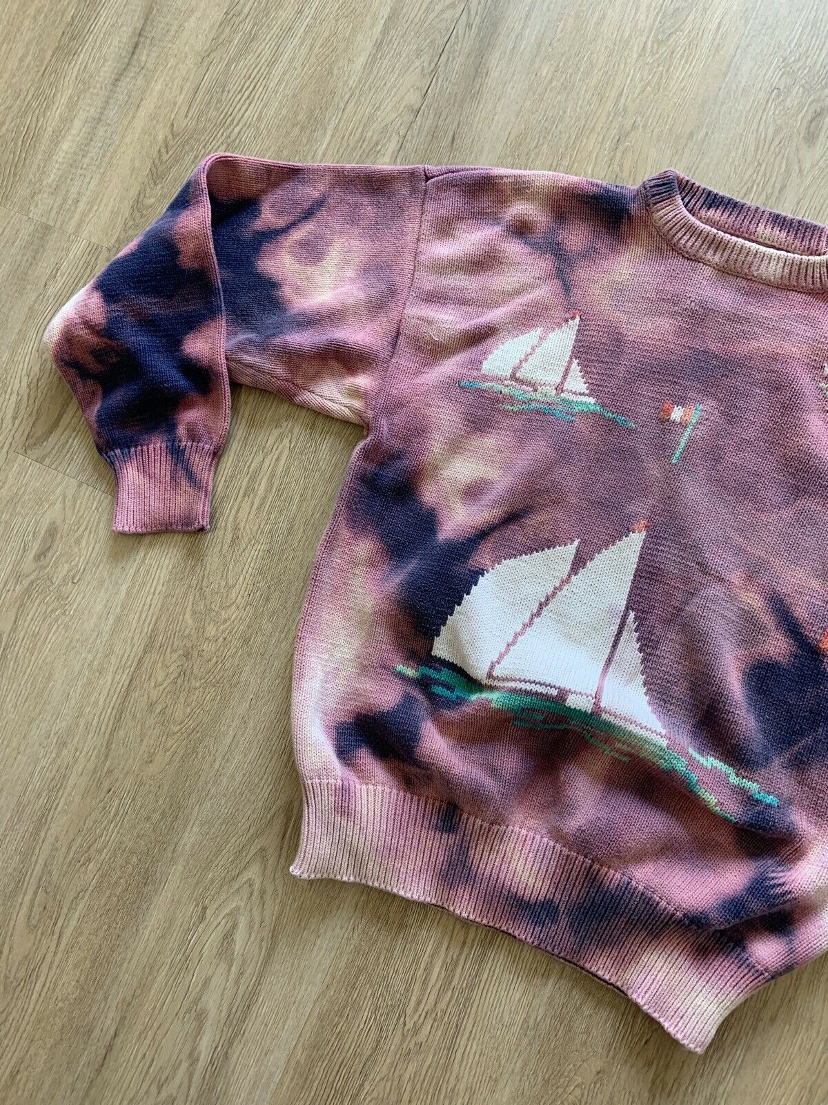Tiedye Tie Dye Sweater VINTAGE - image 7