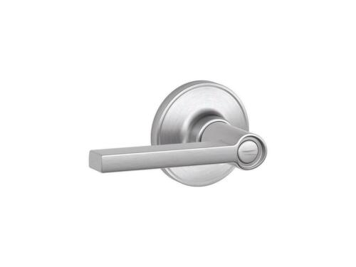 Schlage J40SOL626 Solstice Privacy Leverset from the J-Series Satin Chrome