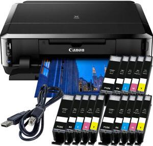 Canon-PIXMA-ip7250-impresora-USB-15x-XL-tinta-CD-presion-duplex-foto-WLAN