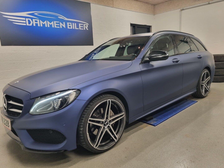 Mercedes C220 d 2,2 AMG Line stc. aut. 5d - 298.000 kr.