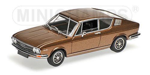 Minichamps 430019128  i 100 Coupe année 1969 dans  marron métallisé  1 43