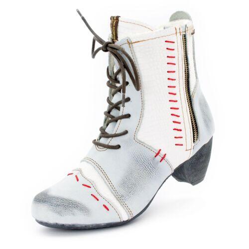 36-42 Mehrere Farben ► TMA BIZARRE 8133 Damen Schuhe /> Leder Winter Boots Gr
