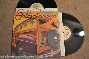 GOLDEN-SUMMER-Surf-Rock-Doo-Wop-Bikini-Sexy-2-RECORDs-LPs-VG