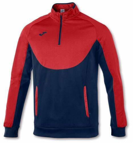 Teamsportbedarf Joma Essential Sweatshirt 1/2 Zipper rot-navy NEU 96620