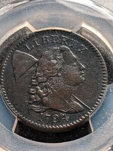 1794 Head of 1794 PCGS Ch XF, Highly Detailed, Extremely Rare this nice!!!