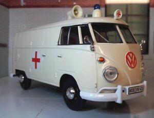 Details about G LGB 1:24 Scale VW T1 Type 2 Ambulance Diecast Model Van  1962 Motormax
