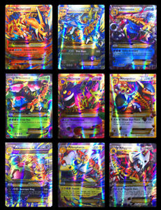 Lots-60GX-Pokemon-Cards-MEGA-RARE-Flash-Card-Pocket-Monster-Cadeaux