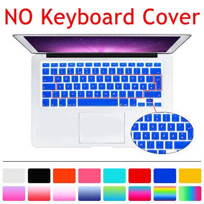 Norwegian NO UK//EU Keyboard Cover For Macbook Pro Air Retian 13 15 17 Soft Silm