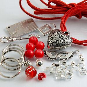 selber machen schlüsselanhänger bastelset paket basteln perlen, Wohnzimmer dekoo