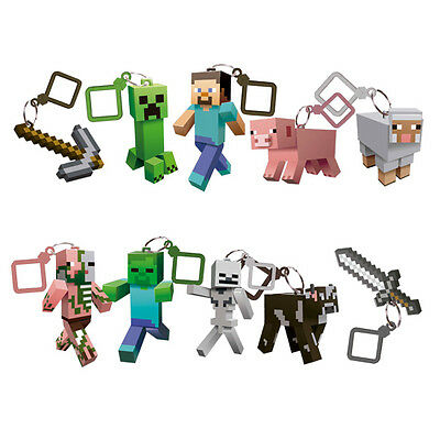 Minecraft hangers keyrings choose your character will post worldwide