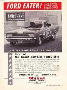 1967-GRANT-RAMBLER-REBEL-SST-034-FORD-EATER-034-RARE-ORIGINAL-MUSCLE-CAR-AD