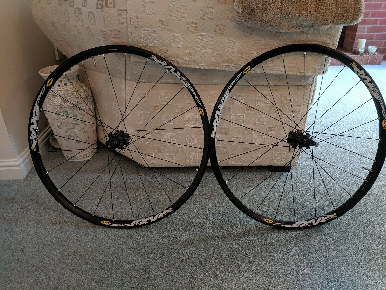 Mavic Crossmax Enduro 26  Wheelset  QR Disc Brake Vintage  welcome to order