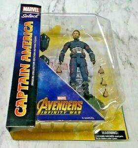 Marvel-Diamond-Select-Captain-America-Avengers-Infinity-War-8-034-Action-Figure