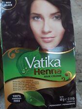 Dabur Vatika Henna Hair Colour Dark Brown 60g Ebay