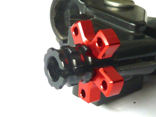 Kawasaki AR125 ER6-F ER6-N EN500 GPX250 GPX600 M8 Anodised Clutch Cable Adjuster
